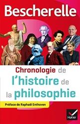 Bescherelle Chronologie de l'histoire de la philosophie de Véronique Decaix