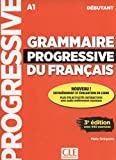 Grammaire progressive du français - Niveau débutant (A1) - Livre + CD + Appli-web - 3ème édition