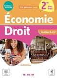 Économie-Droit 2de Bac Pro (2021) - Pochette élève - Pochette élève (2021)