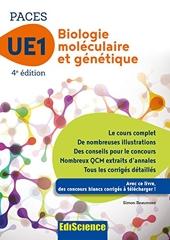 Biologie moléculaire-Génétique UE1 PACES - 4e éd. - Manuel, cours + QCM corrigés de Simon Beaumont