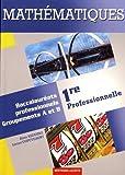 Mathématiques 1re professionnelle bac pro industriels