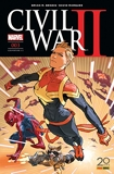 Civil War II n°3 (couverture 1/2)