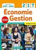Économie-Gestion 2de, 1re, Tle Bac Pro ASSP et AEPA (2020) Pochette élève