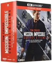 Coffret Mission - Impossible 6 Films 4k Ultra HD [Blu-Ray]
