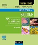 Mémo Visuel De Biologie - 4e Éd