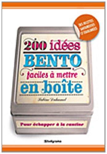 200 idées bento faciles à mettre en boîte