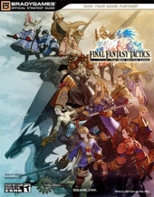 FINAL FANTASY Tactics - The War of the Lions Official Strategy Guide de BradyGames