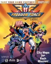 Freedom Force Official Strategy Guide de Rick Barba