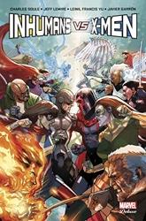 Inhumans vs X-Men de Charles Soule