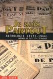 Je Suis PartouT - Anthologie (1932-1944)