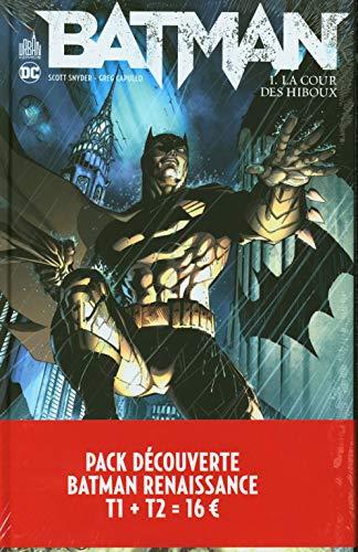 Pack découverte Batman Renaissance T1 + T2 offert