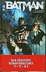Pack découverte Batman Renaissance T1 + T2 offert de Greg Capullo