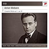 Anton Webern - Oeuvre intégrale