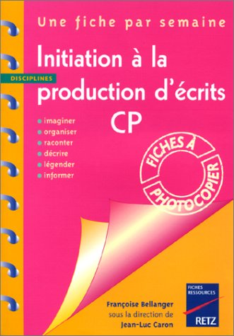 Initiat.production ecrits cp
