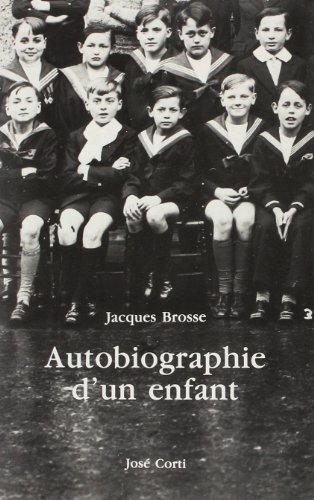 Autobiographie d'un enfant