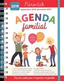 Agenda familial Mémoniak 2018-2019 - Editions 365 - 20/06/2018