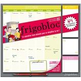 Frigobloc Mensuel 2022 - Calendrier D'Organisation Familiale Par Mois (De Sept. 2021 À Déc. 2022)