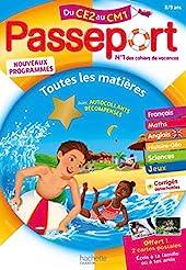 Passeport - Du CE2 au CM1 (8-9 ans) - Cahier de vacances 2021 de Michèle Bacon