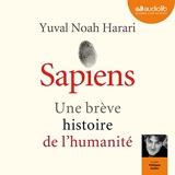 Sapiens. Une brève histoire de l'humanité - Format Téléchargement Audio - 23,30 €