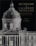 Dictionnaire de l'Académie française, tome 1 - A - Enz