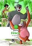 Grand bloc Disney Fêtes - 60 coloriages