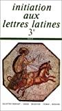 Initiation aux lettres latines 3e