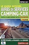 Le guide officiel - Aires de services camping-car