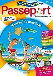 Passeport - Du CM1 au CM2 (9-10 ans) - Cahier de vacances 2021 de Claire Barthomeuf