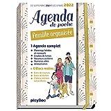 AGENDA DE POCHE DE LA FAMILLE ORGANISÉE 2022 - ROSE (DE SEPT 2021 À DÉCEMBRE 2022) S'organiser n'a jamais été aussi simple !