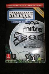Championship Manager 2003/2004 - Official Strategy Guide de Prima Development