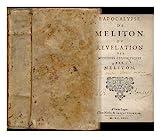 L' apocalypse de Meliton. Ou Revelation des mysteres cenobitiques / par Meliton