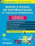 Remise À Niveau En Mathématiques Et Tableaux Numériques - Catégorie C