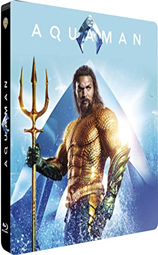 Aquaman [4K Ultra HD 3D + Blu-Ray-Édition Limitée SteelBook]
