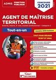 Concours Agent de maîtrise territorial - Catégorie C - Tout-en-un - Annales 2019 incluses - Externe, interne, 3e voie, examen professionnel - Concours 2021 (2020)