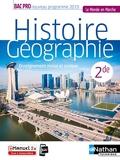 Histoire-Géographie EMC 2e Bac Pro (Le monde en marche) Livre + Licence élève 2019 - EMC - 2de Bac Pro
