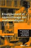 Enseignement et apprentissage des mathématiques - Que disent les recherches psychopédagogiques ? (2008)