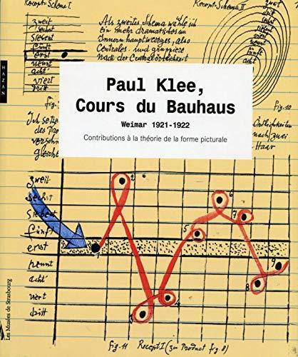 Pau Klee, Cours du Bauhaus