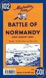 Carte Bataille de Normandie juin-aot 1944