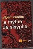 Le mythe de sisyphe [Broché] Camus Albert