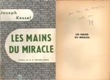 Les mains du miracle avec dédicace (envoi autographe) - NRF Gallimard