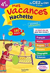 Mes Vacances Hachette - Du CE2 au CM1 - Cahier de vacances 2021 de Philippe Simon
