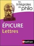 Intégrales de Philo - EPICURE, Lettres (Les Intégrales de Philo t. 5) - Format Kindle - 5,99 €