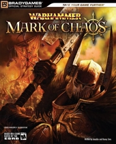 Warhammer - Mark of Chaos Official Strategy Guide de BradyGames