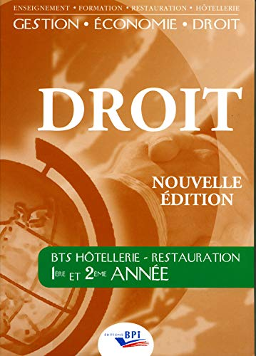 Droit BTS Hôtellerie