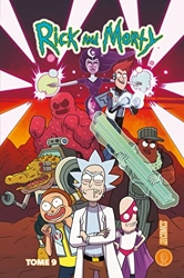 Rick & Morty - Tome 9 de Tini Howard