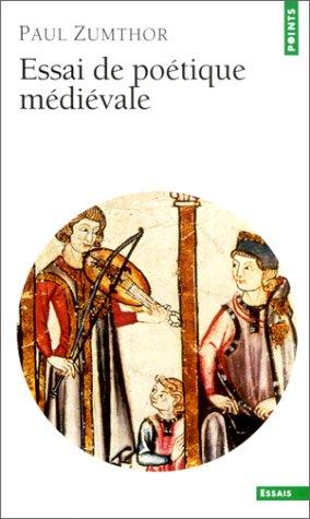 Essai de poétique médiévale