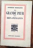 La grande peur des bien-pensants - Paris B. Grasset [1931]