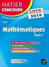 Hatier Concours CRPE 2019 - Mathématiques tome 1 - Epreuve écrite d'admissibilité de Roland Charnay