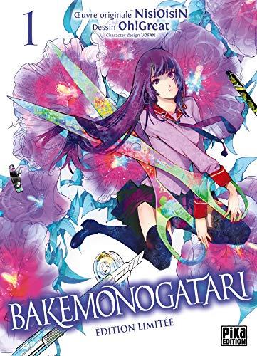 Bakemonogatari T01 Edition limitée