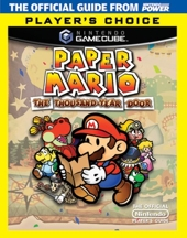Official Nintendo Paper Mario - The Thousand-Year Door Player's Choice Player's Guide de Nintendo Power